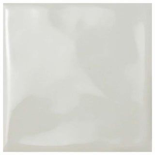 SomerTile 3.75x3.75-inch Curve Square Soft Cream Ceramic Wall Tile (Pack of 9)