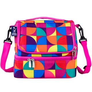 Wildkin Multicolor Pinwheel Double Decker Lunch Bag