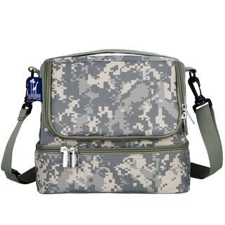 Wildkin Digital Camo Double Decker Lunch Bag