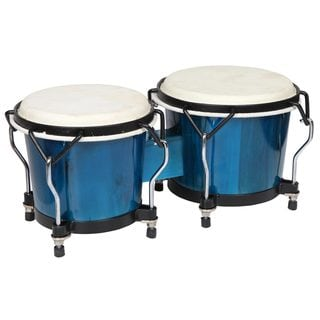 Handmade X8 Drums Endeavor Breakout Blue Bongos (China)