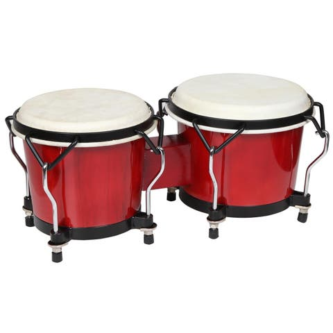 X8 Drums Endeavor Red Bongos