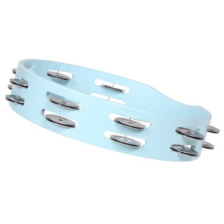 X8 Drums Spectrum Carolina Blue Tambourine (Taiwan)