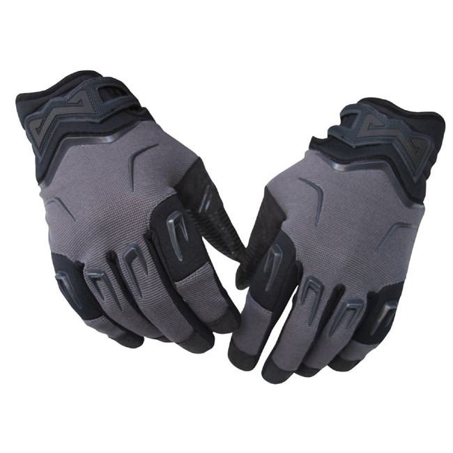 MadDog Gear Motorcycle Utility Gloves (M/L), Black (polye...