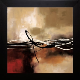Laurie Maitland 'Symphony in Red and Khaki ll' Framed Artwork
