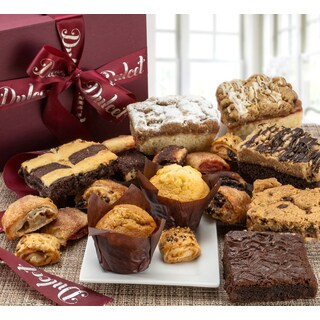 Dulcet's Gourmet Assorted Bakery Pastry Deluxe Gift Basket