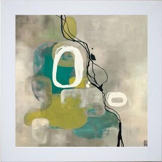Laurie Maitland 'Jade Retro' Framed Artwork