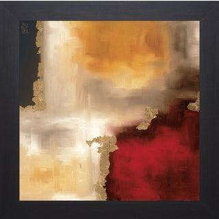 Laurie Maitland 'Crimson Accent l' Framed Artwork