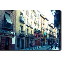 Streets in Madrid' Photography Canvas Art