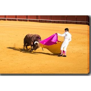 Bullfighting' Photography Canvas Art