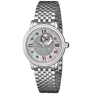"Raymond Weil Women's 2627-ST-00994 ""Maestro"" Analog Display Swiss Automatic Silver Watch"