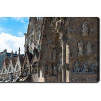 La Sagrada Familia, Barcelona' Photography Canvas Art - Multi