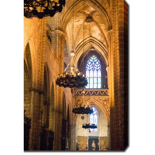Seville Cathedral, Spain' Photography Canvas Art