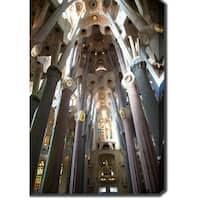 La Sagrada Familia, Barcelona' Photography Canvas Art