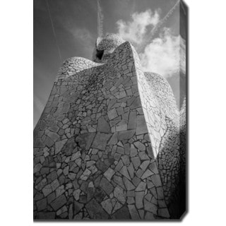 Casa Mila, Barcelona' Photography Canvas Art