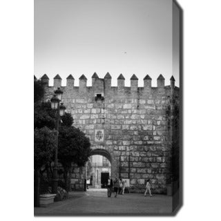 Alcazar of Seville, Spain' Photography Canvas Art