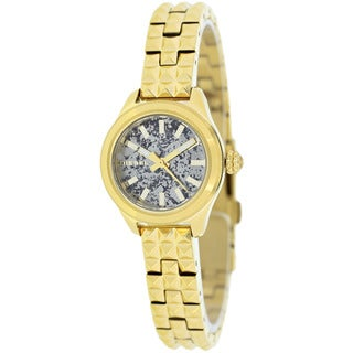 Diesel Women's DZ5411 Kray Kray Round Gold-Plated Bracelet Watch