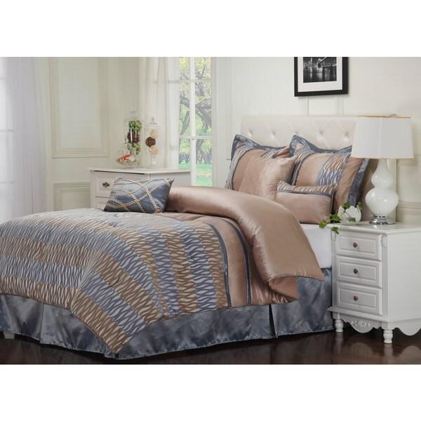 Superior Wrinkle Resistant 7-piece Westerly Comforter Set