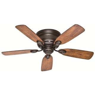 """Link to Hunter 42"""" Low Profile Ceiling Fan with Pull Chain - New Bronze Similar Items in Ceiling Fans"""
