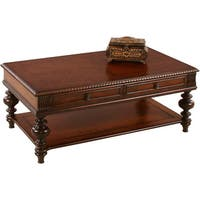 Mountain Manor Heritage Cherry Rectangular Castered Cocktail Table