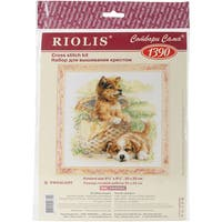 "Tender Age Counted Cross Stitch Kit-9.75""X9.75"" 14 Count"