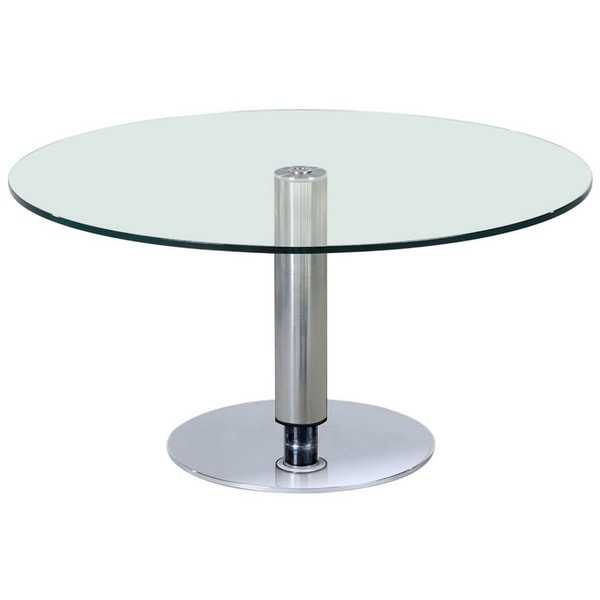Somette 38 Inch Round Hi Low Dining Table Free Shipping