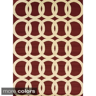 Effects Naomi Multi-texture Area Rug (7'10 x 10'6)