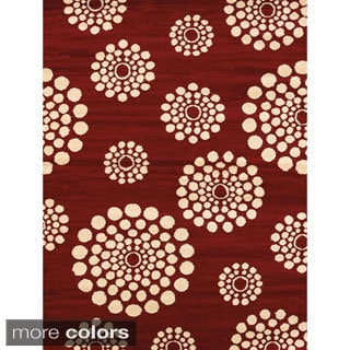 Effects Teagan Multi-texture Area Rug (7'10 x 10'6)