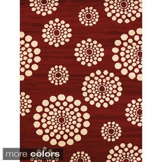 Effects Teagan Multi-texture Area Rug (5'3 x 7'2)