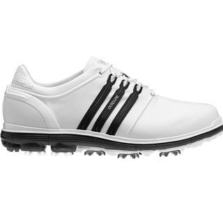 Adidas Men's Pure 360 White/ Black Golf Shoes