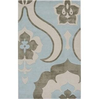 Splendor Blue Geometric Area Rug (5' x 8')