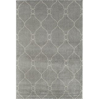 Canyon Grey Geometric Rug (8' x 11')