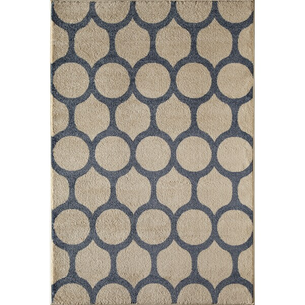 Canyon Tan Geometric Area Rug - 8' x 11'