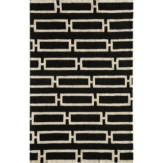 Amore Gold Geometric Area Rug (8' x 10')