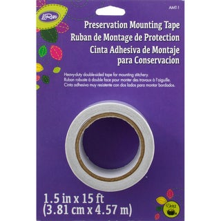 "LoRan Archival Mounting Tape 1.5""X15'-"