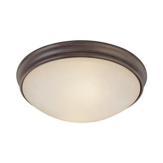 Capital Lighting Transitional 2-light Oil Rubbed Bronze Flush Light