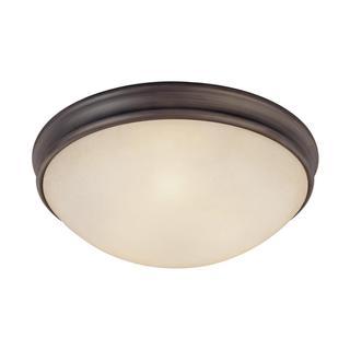Capital Lighting Transitional 3-light Oil Rubbed Bronze Flush Light