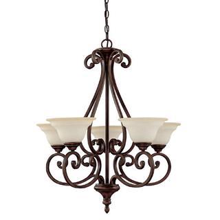 Capital Lighting Chandler Collection 5-light Burnished Bronze Chandelier