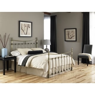 Fashion Bed Group Leighton Steel Antique Brass Full-size Bed
