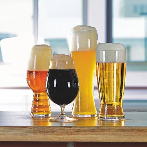 """Spiegelau Classic Beer Tasting Kit (set of 4) - 14"""" x 4"""""""
