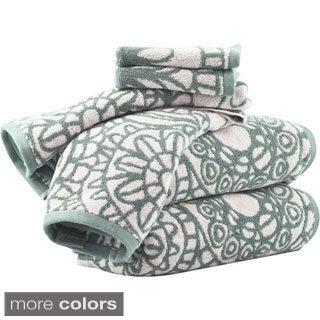 Sanctuary by Vivendi Home 6-piece Floral Towel Set