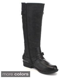 Lilianna JAQ-2 Women's Knee High Riding Boots