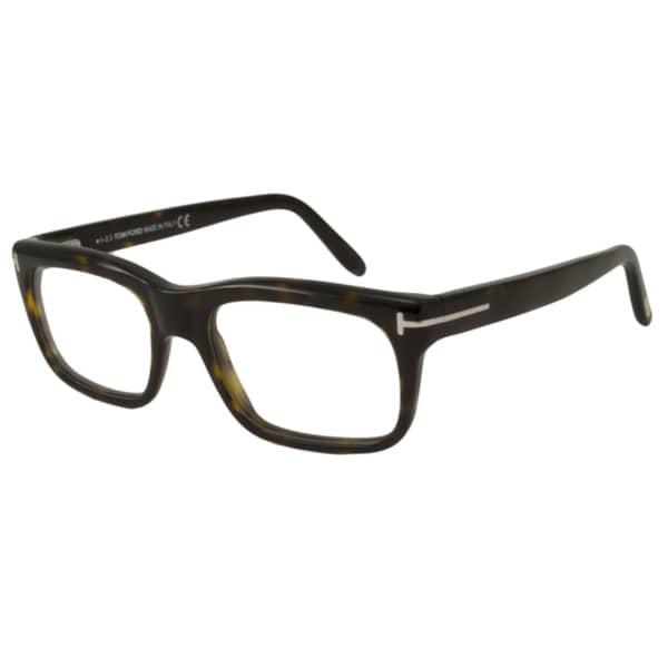 3983ba74d9e Shop Tom Ford Men s TF5284 Rectangular Reading Glasses - Free ...