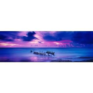 Haim Laferie 'Shipwreck' Plexi Photography
