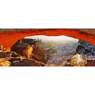Haim Laferie 'Triumph Arch' Plexi Photography