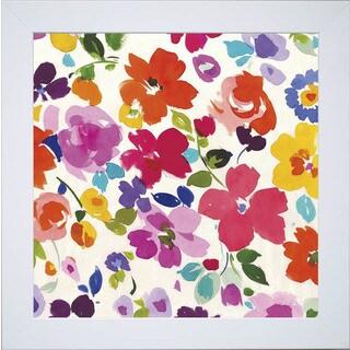 Wild Apple Portfolio 'Bright Florals I' Framed Painting