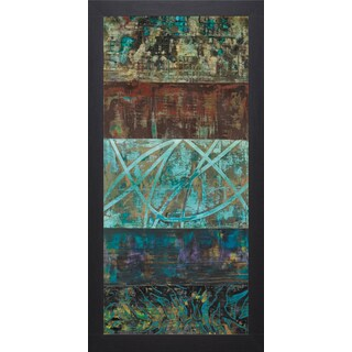 Hilatrio Gutirrez 'Overgrown II' Framed Art Print