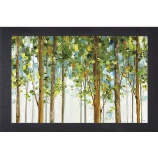 Lisa Audit 'Forest Study I Crop' Framed Art
