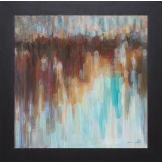 Karen Lorena Parker 'Lights on the Harbour' Framed Art Print