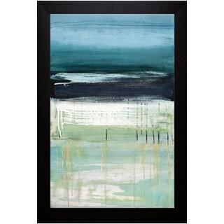 Heather McAlpine 'Sea and Sky l' Framed Art Print