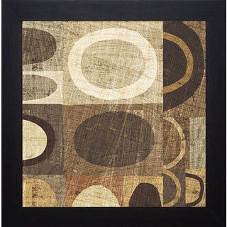 Michael Mullan 'Modern Geometric Neutral II' Framed Artwork